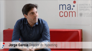 Jorge García, Director de Marketing Valencia CF