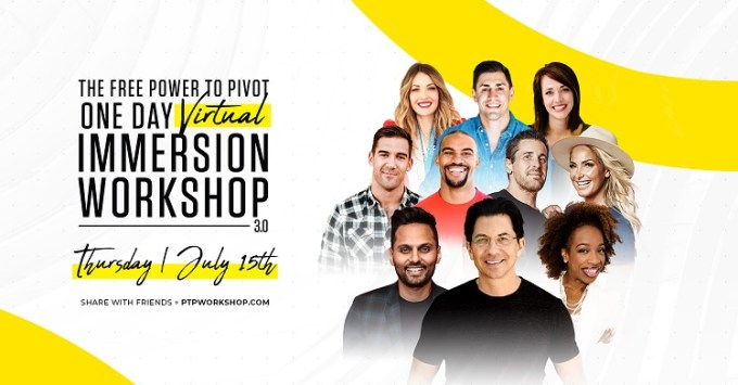 power to pivot one day virtual immersion workshop