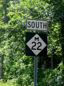 m-22-street-sign