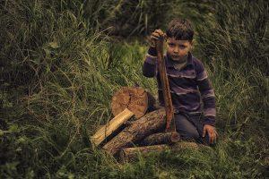 child-working