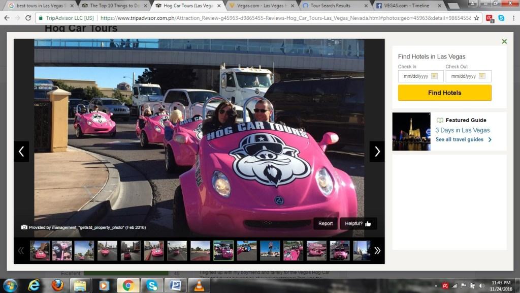 hog car racing lv