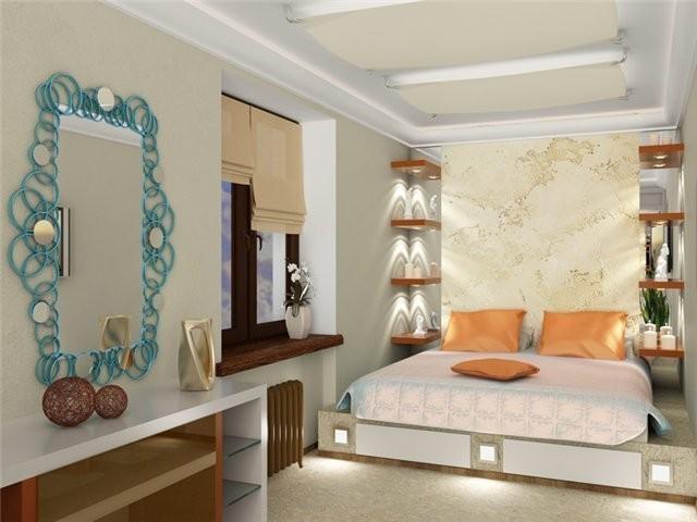 дизайн маленькой спальни 12 квм фото 2