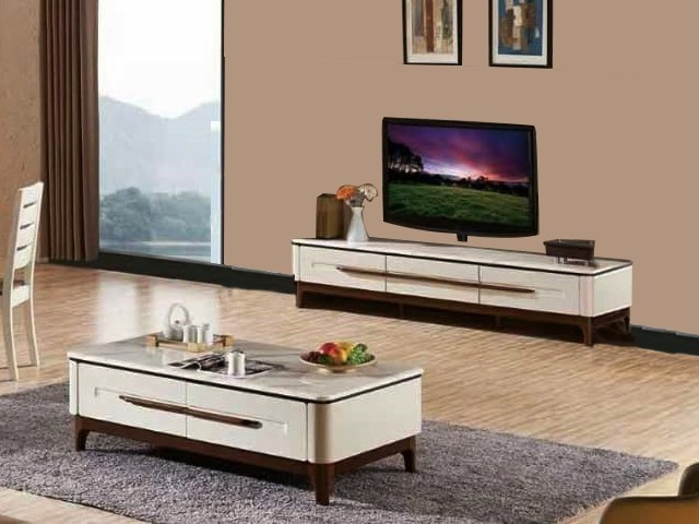 meuble tv a3315 marron beige marbre table basse 3315 marron beige m