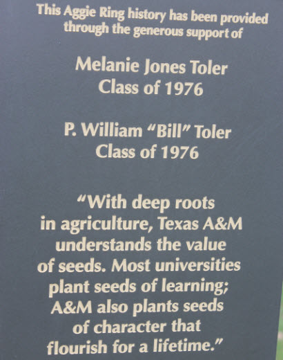Aggie-Ring-History