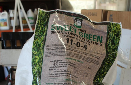 Sweet-green-fertilizer