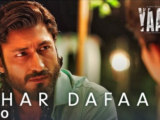 Har Dafaa Lyrics from Yaara