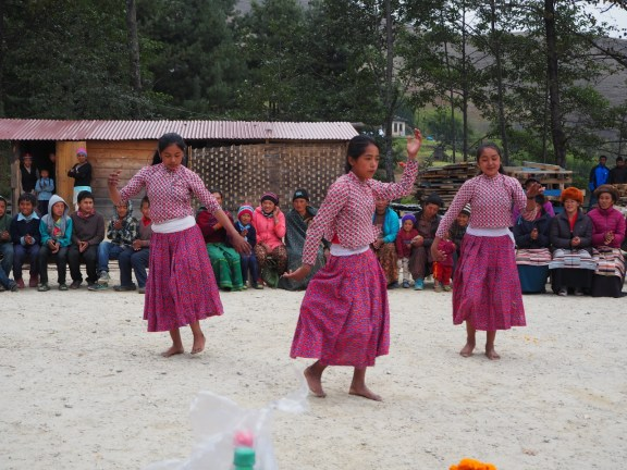 Dancing at the Farewell Ceremony