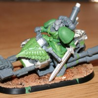 Artscale Space Marine Bike