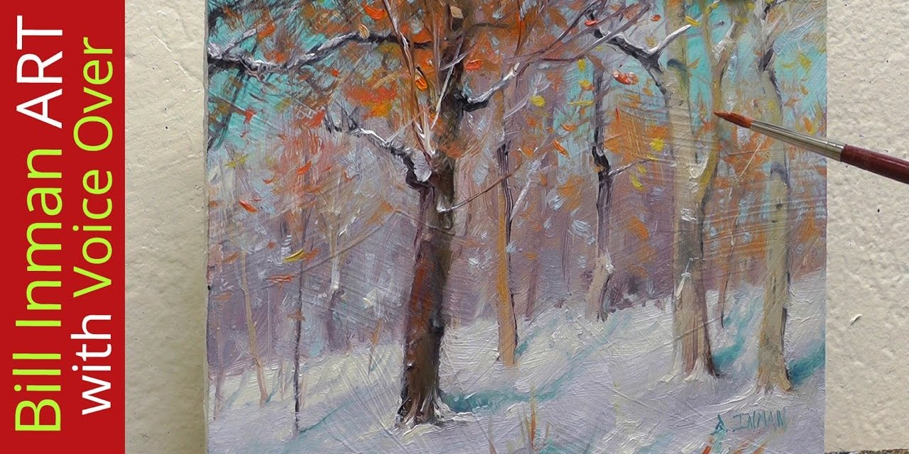 How to Paint Your Own Winter Wonderland