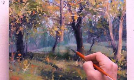 From Outdoor Painting to Studio Refinement