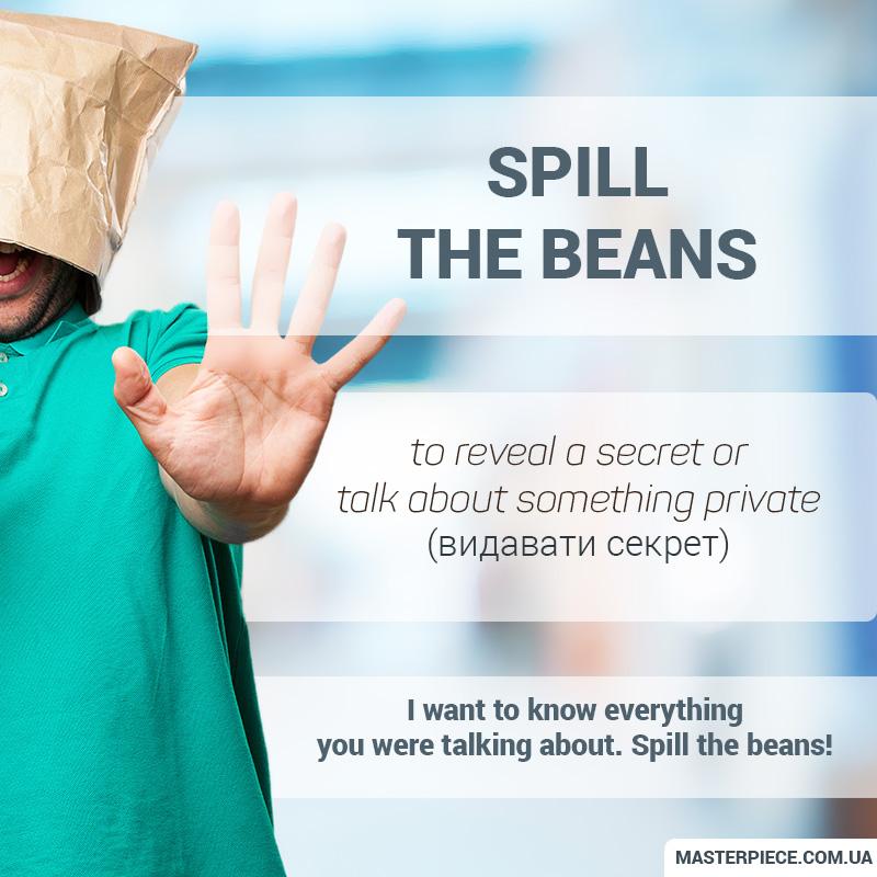 Ten Idioms relating to secrets