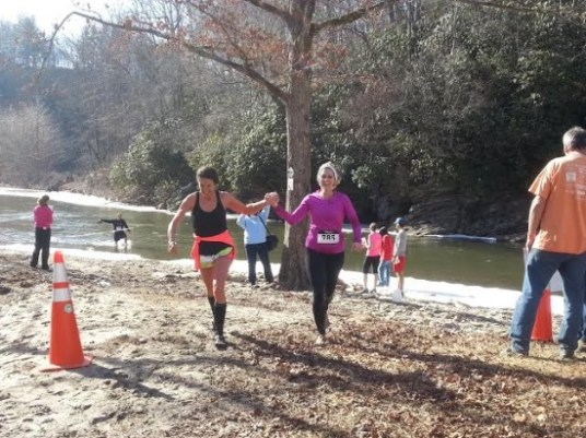 Winter Splash Finish 2014