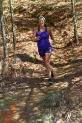 Teresa Roberts enjoying the run!