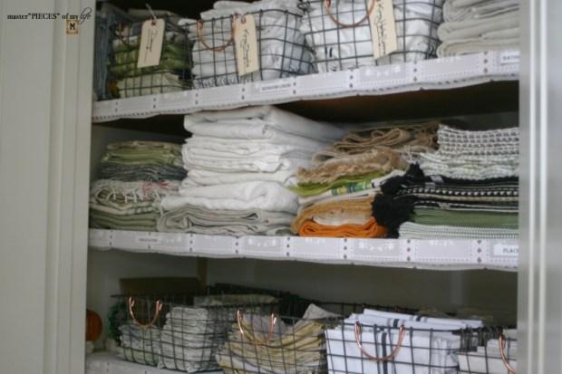 Linen closet organization1