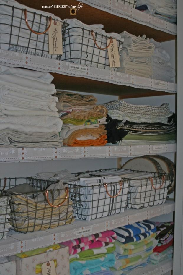 Linen closet organization9