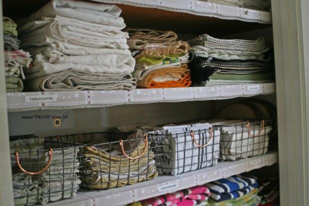 Linen closet organization10