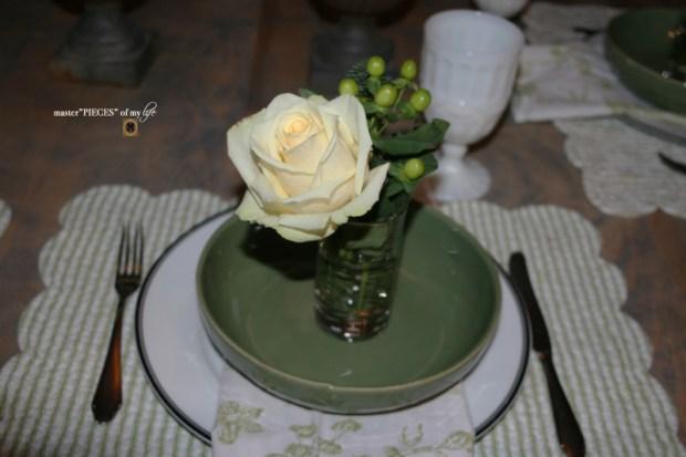 Winter greens tablescape5