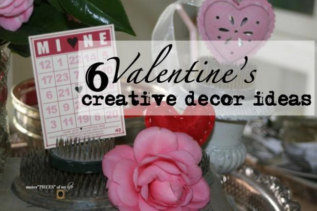6 valentines creative decor ideas