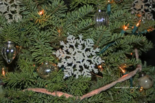Glitter old fashioned christmas light bulbs1