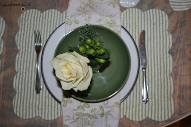 Winter greens tablescape8