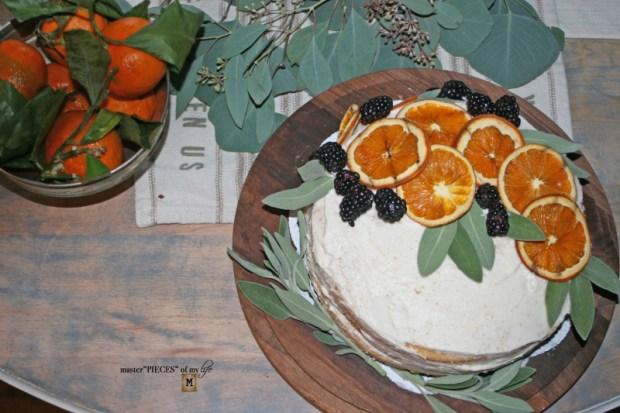 On the menu - orange  naked cake5
