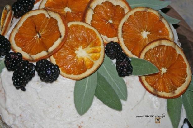 On the menu - orange  naked cake6