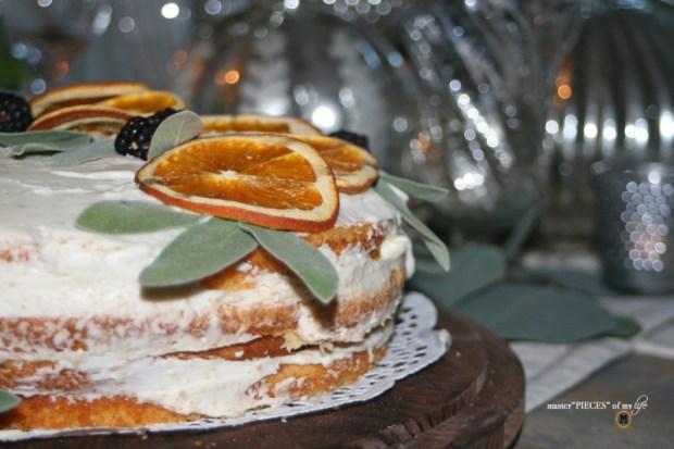On the menu - orange  naked cake9