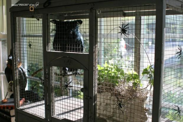 Thru the seasons - ornamental birdcage 8