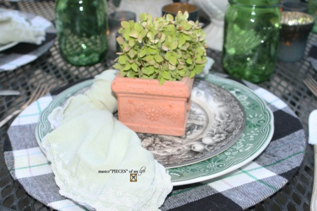 Last day of summer garden tablescape 3