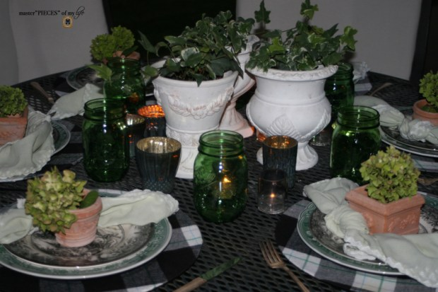 Last day of summer garden tablescape 9