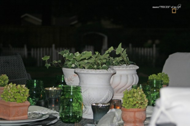 Last day of summer garden tablescape 10