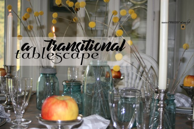 Transitional tablescape