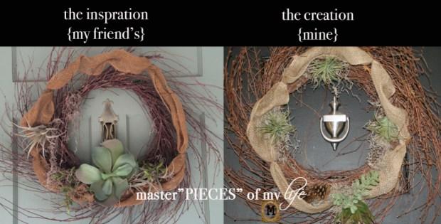 Reindeer moss wreath 5