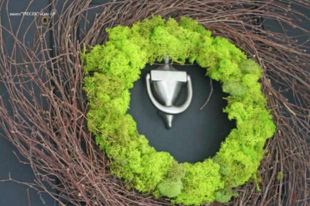 Reindeer moss wreath 9