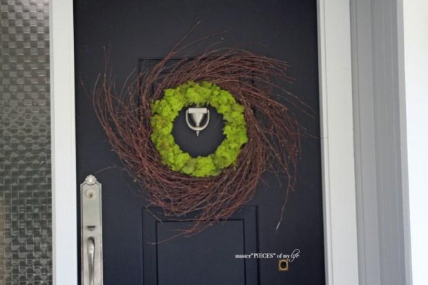 Reindeer moss wreath 10