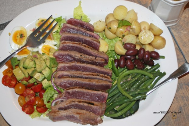 CA style nicoise salad 6