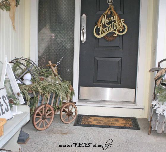 Through the seasons - a goat cart 6