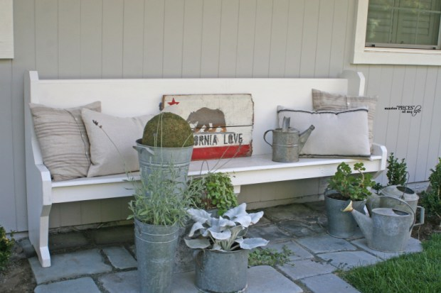 Church pew bench 2