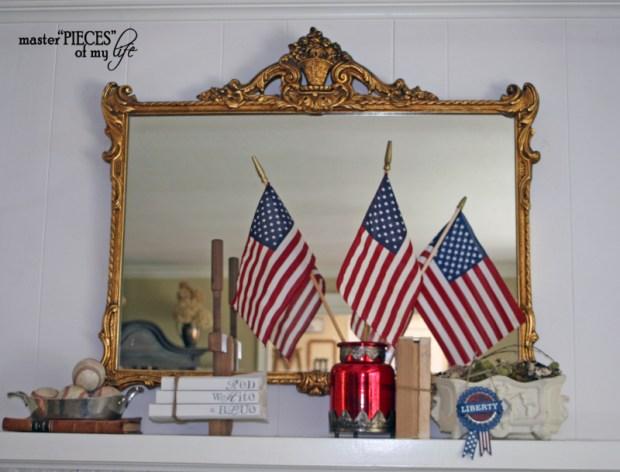 Patriotic decorating detail 8