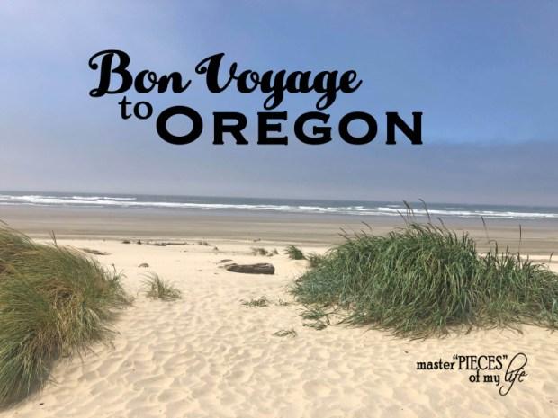 Bon voyage to oregon