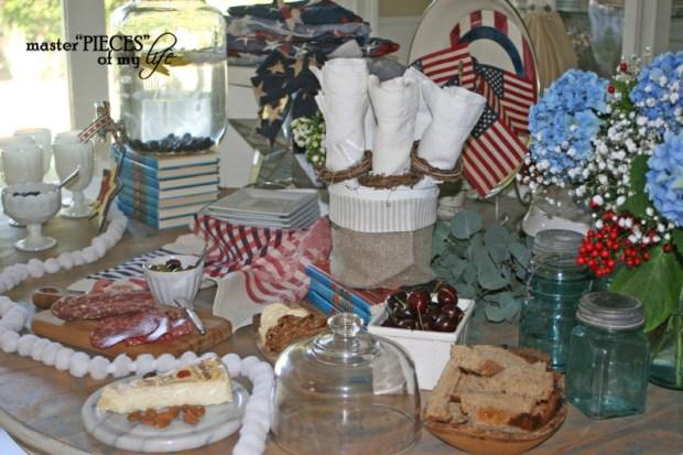 4th of july buffet 2