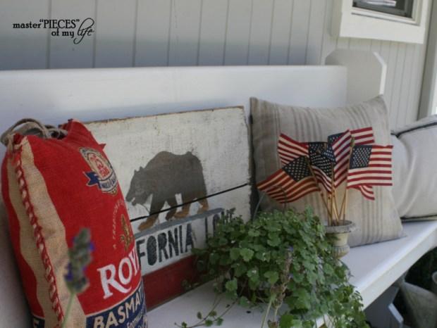 Patriotic decorating detail 5