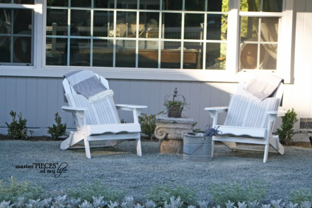 Front yard sitting area 2