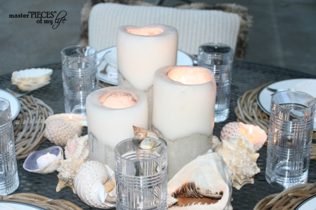 Seashell tablescape 7