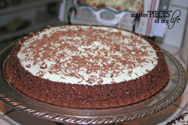 Chocolate pistachio cake4