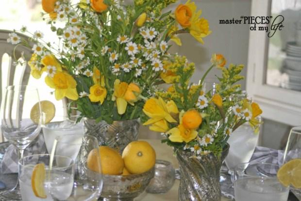 Lemon inspired tablescape8