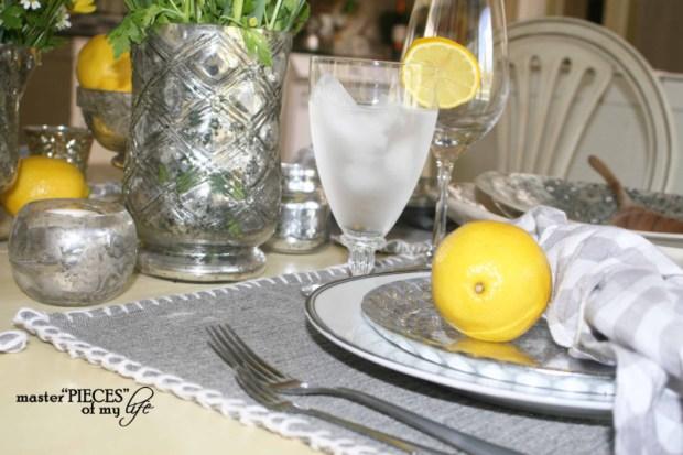 Lemon inspired tablescape3