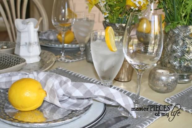 Lemon inspired tablescape6