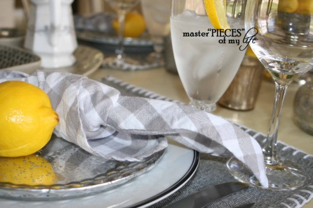 Lemon inspired tablescape9