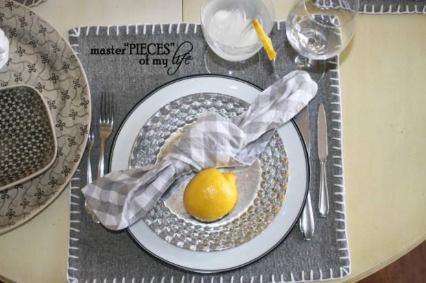 Lemon inspired tablescape11